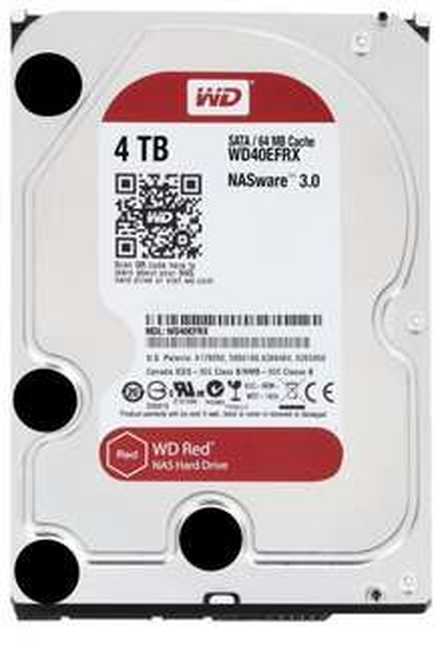 WD RED 40EFRX 4TB - 24/7 HDD - günstigster Preis im Netz