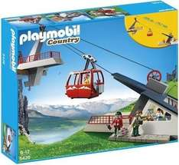 [MÜLLER]  Playmobil Country - Seilbahn mit Bergstation (5426) für 35,00€