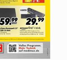 -37,5 % LOKAL  MEDIMAX Amazon-Fire-TV-Stick 25.-  €