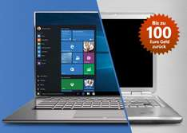 [Conrad] Alt gegen neu Aktion bis zu 100,- EUR Abwrackprämie beim Kauf eines neuen Windows gerätes