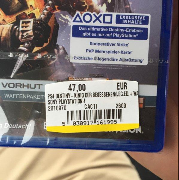 [Media Markt Oststeinbek] Destiny König der Besessenen PS4