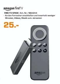 [Lokal Saturn Köln Hansaring] Amazon Fire TV Stick für 25,-€