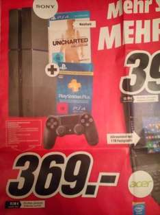 [Media Markt - eventuell bundesweit] PlayStation 4 - Uncharted Collection Pack + 3 Monate PSN Plus