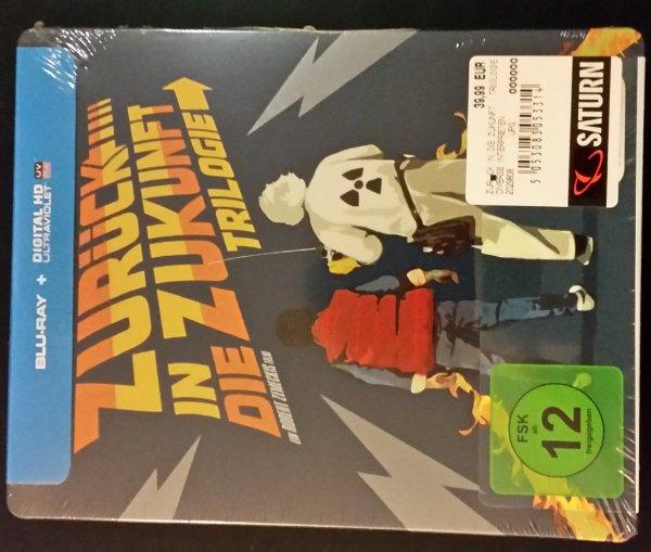 [Saturn Berlin-Alexanderplatz] Zurück in die Zukunft - Trilogie 30th Anniversary Blu-ray Limited Edition