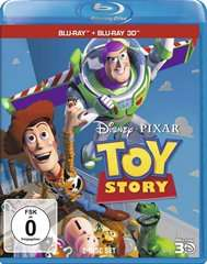 (Cede)Toy Story [2Disc Blu-ray 2D/3D], Toy Story 2 (2Disc Blu-ray 2D/3D) undToy Story 3(2 Disc Blu-ray 2D/3D) je 10,99 EUR inkl. VSK