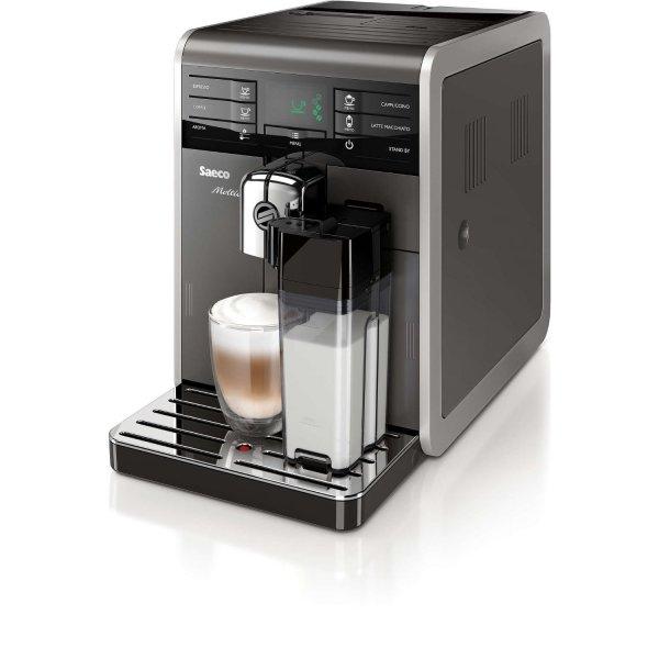 [Metro - nur mit Karte] Saeco HD 8777/11 Moltio (Kaffeevollautomat, grau/silber) + Pflegeset gratis