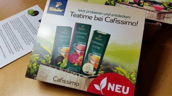 Tchibo cafissimo Tee Probierset (3 Kapseln) kostenlos @ Edeka