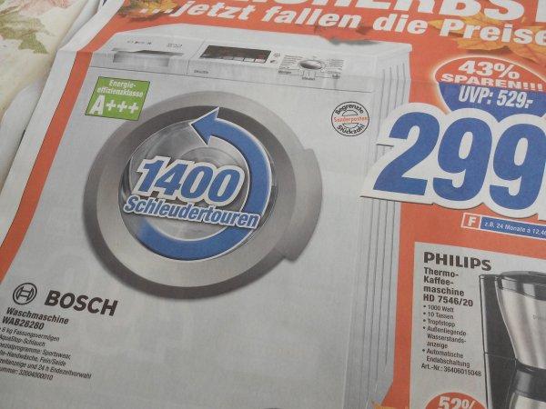 ( lokal Bonn ) Sonderposten Bosch Waschmaschine WAB28280