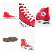 "(UO)Converse All Star ""Chuck Taylor"" Sneaker in Rot/Weiß für"