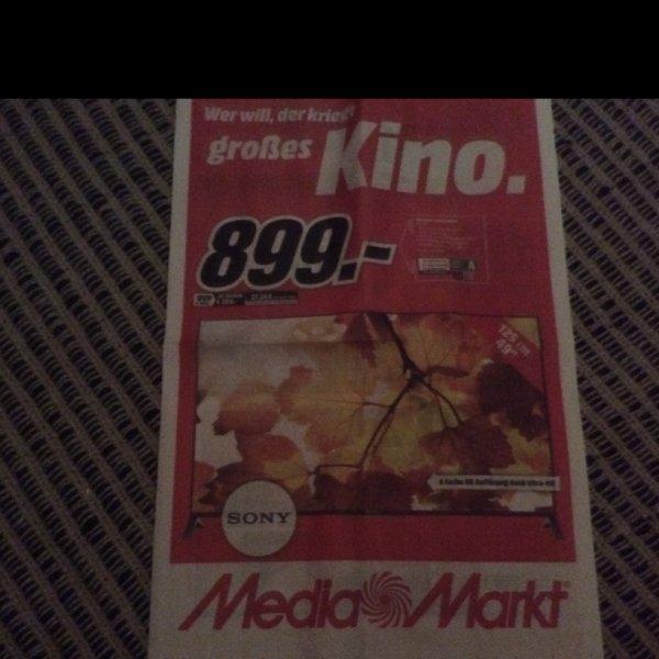Sony KD 49 X 8005 CBAEP UHD TV @MM Greifswald für 899€