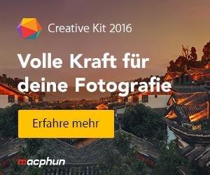 Das MacPhun Creative Kit 2016 als Pre-Order für 89.99€ statt 149.99 € –  Auch als kostenlose Demo erhältlich.