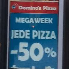 "[Lokal Berlin] ""Mega Week - 50% auf Pizza"" Domino's Pizza - Checkpoint Charlie"