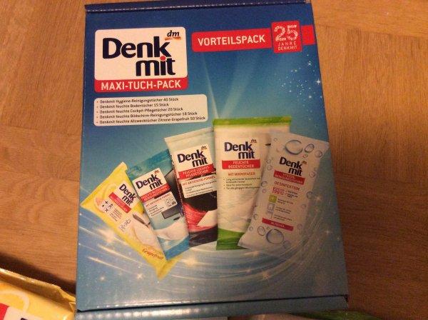 dm denk mit maxi-tuch-pack für 4,95€