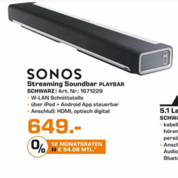 [Lokal Halle?][Saturn] Sonos Playbar 649,- Euro