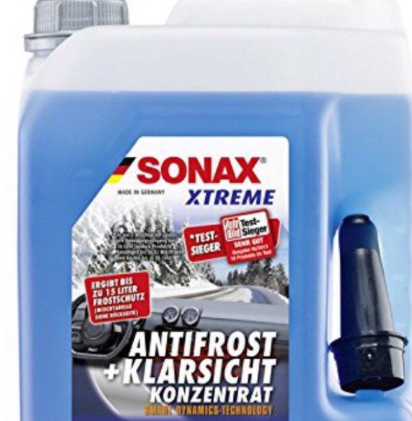 SONAX 232505 XTREME AntiFrost&KlarSicht Konzentrat, 5l