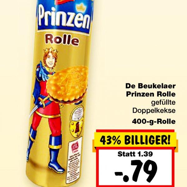 De Beukelaer Prinzenrolle 79 CENT, die gesamte Woche [Kaufland, Duisburg]