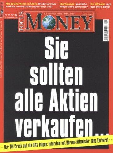 """5 Ausgaben der Zeitschrift """"Focus Money"""" für 13,00€ mit 10,00€ Universal-Tankgutschein"""