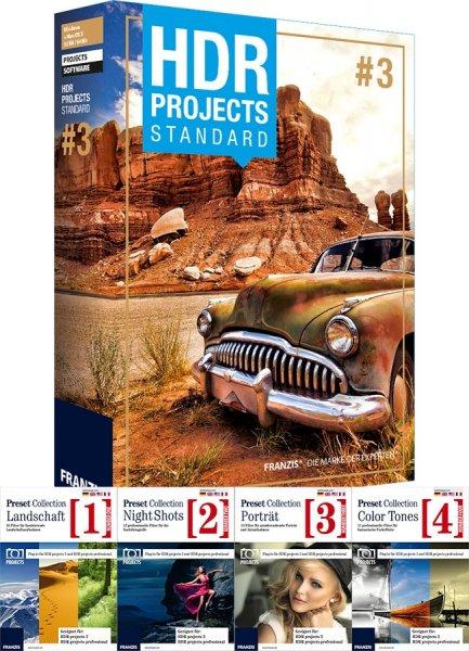 HDR - Bildbearbeitungssoftware Franzis 49,00€ VGL-189€