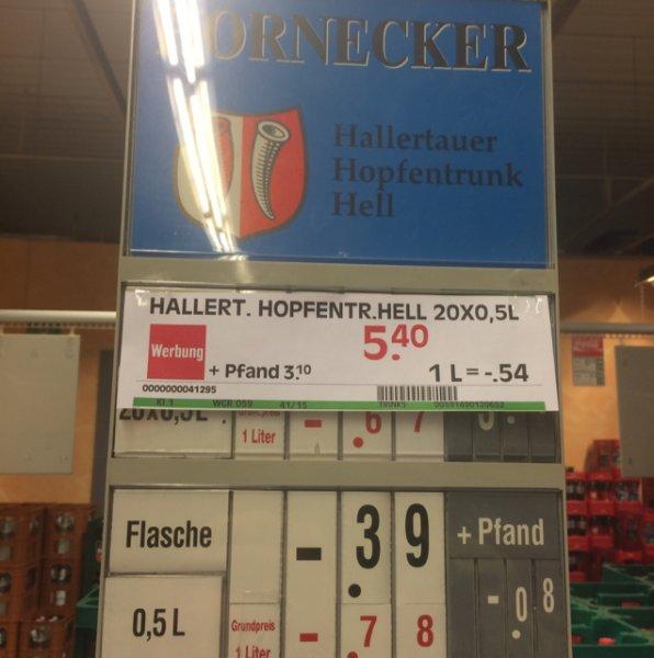 Edeka Regensburg Hallertauer Hopfenspaß