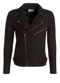 SELECTED Biker Wildleder SH CLOSE (echtes Leder)