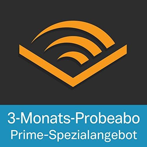 [AMAZON-PRIME] Audible 3 Monate kostenlos | Neukunden