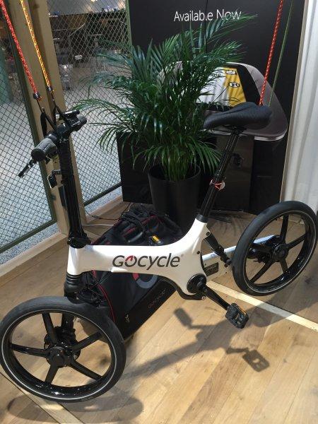 Ebike Gocycle G2 Vorführmodell + Pebble Pink - Idealo ab 3299 Euro