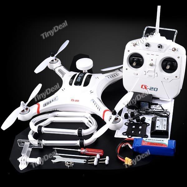 Quadcopter Cheerson CX-20 mit GPS Auto-pathfinder Open Source und VERSAND AUS DE @tinydeal