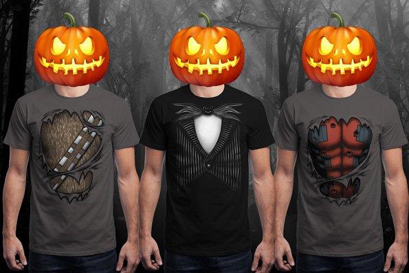 (Nerdshirts/Qwertee) Nightmare Before Christmas, Chewbacca, Deadpool Shirts ab 8,- €