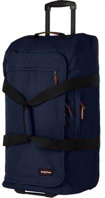 Eastpak Authentic Trenton L Reisetasche mit Rollen blau,rot,grau [Kofferprofi]