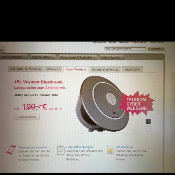 JBL Voyager Bluetooth [Online Telekom] für 88€