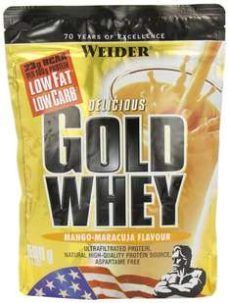Weider Gold Whey, Mango-Maracuja, 500 g