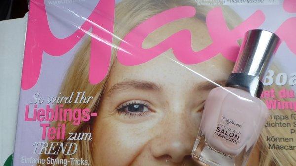 Sally Hansen Nagellack Gratis beim Kauf der MAXI (Zeitschrift)für 2,70€