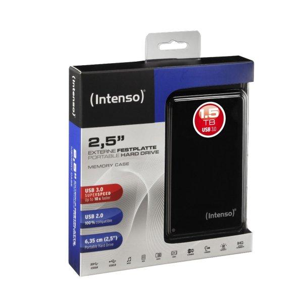 [Allyouneed] Intenso Memory Case mit 1,5TB (2,5'', USB 3.0, ausbaubar für PS4) für 66,80€ versandkostenfrei