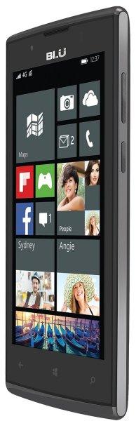 "[Amazon.co.uk] BLU Win JR Windows Phone LTE + Dual-SIM (4,5"" FWVGA IPS, Snapdragon 410 Quadcore, 1GB RAM, 8GB intern, Update auf Windows 10 Mobile) für 79,16€ *** Blu Win HD (5'' HD IPS, 2500 mAh) für 112,59€"