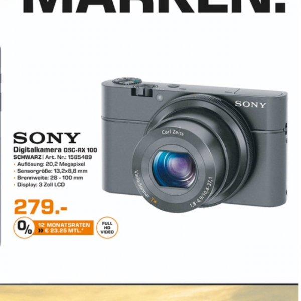 [Saturn Bielefeld] Sony RX-100 Kreativkamera (PVG 328€)