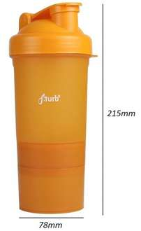 CN / ebay: FiTurbo 3in1 Shaker orange für 2,29 €