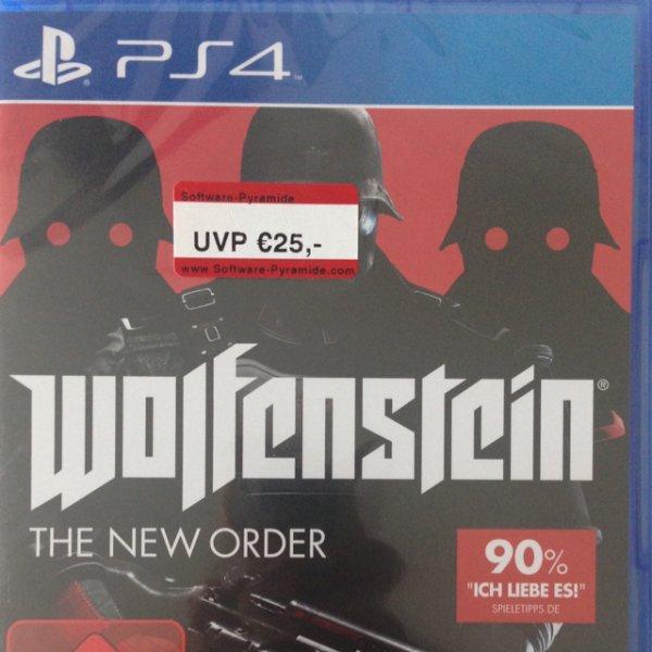 Wolfenstein: The new Order (PS4) [Mediamarkt Bonn]
