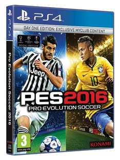 [Coolshop] Pro Evolution Soccer (PES) 2016 - Day One Edition (PS4)