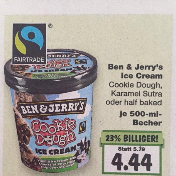 Ben & Jerry's Ice Cream versch. Sorten f. 4,44 b. Kaufland (bundesweit)