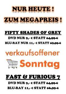 Fifty Shades of Grey / Fast &Furious 7