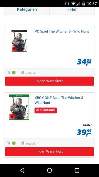 [Real Online] Witcher 3 für Xbox und PS