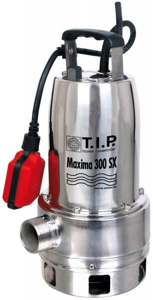 700W Volledelstahl Schmutzwassertauchpumpe T.I.P. Maxima 300 SX @Amazon.de