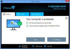 F-Secure SAFE for PC & MAC - 5 PCs - 14,99 €