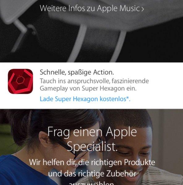 [iOS] Super Hexagon Kostenlos!