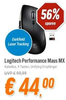 [Notebooksbilliger] Logitech Performance Mouse MX für 46,99€
