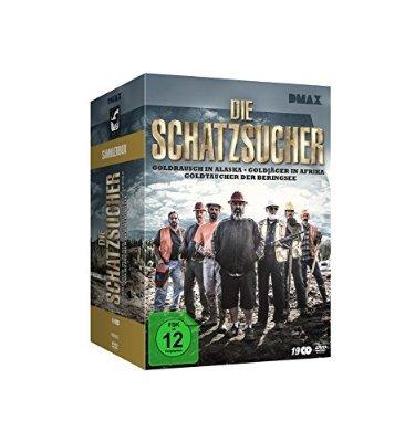 Die Schatzsucher - Goldrausch - Sammler - Box - 19 DVD's