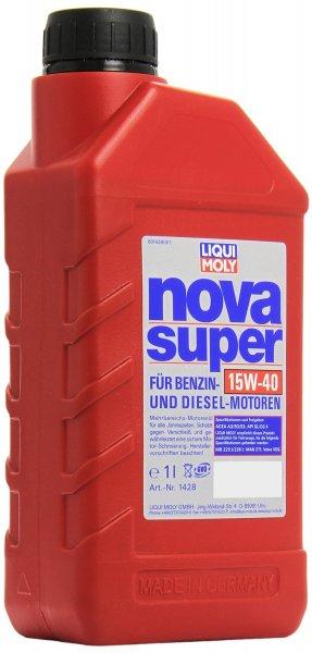 [Amazon.de-Prime] Liqui Moly Motoröl Nova Super 15W-40, 1 Liter