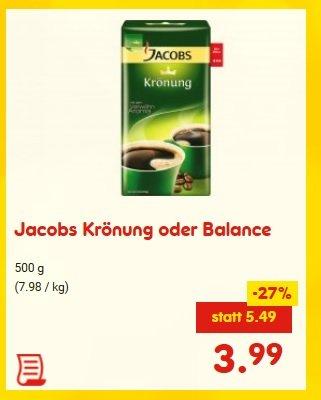 Jacobs Krönung für 3,99€ bei Netto ohne Hund