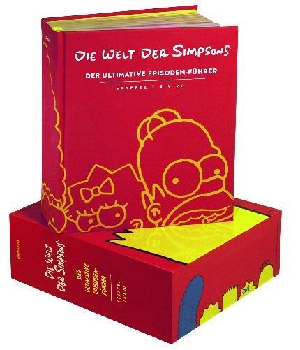 [Amazon Marketplace] Matt Groenings: Die Welt der Simpsons (deutsche Ausgabe ) - 1200 Seiten starker Episoden-Führer als Mängelexemplar für ca.45€ incl.Versand!