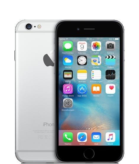 iPhone 6 mit 64 GByte für 99 Euro + 39,99 vertrag 24 monaten Real Allnet Vodafone
